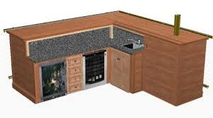 Contemporary Ideas Free Basement Bar Plans Cool Design L Shaped How To Build  A Amazing DIY Woodworking