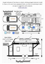 tiny house plans on wheels pdf luxury free tiny house wheels plans floor pdf for building