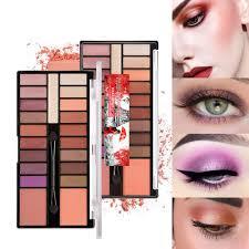 amazon pretty y 20 color eyeshadow with eye base cream perfect makeup beauty