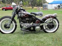 1946 harley davidson fl knucklehead bobber for sale