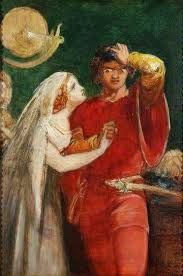 best shakespeare paintings images daniel o othello and desdemona by john everett millais national trust date painted c 1841