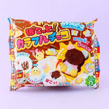 kracie pokotto colorful chocolate diy candy kit