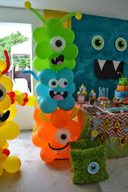 Owl Balloon Decorations Partylicious Little Monster Birthday Bash