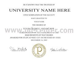 Samples Of Bachelor's Degree Certificate Fresh Free Sample Degree ...