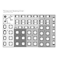 restaurant floor plan. Restaurant Seating Chart Floor Plan