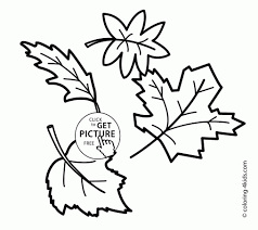Small Picture Fall Tree Coloring Book Coloring Coloring Pages