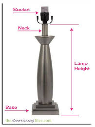 How To Measure A Lamp Shade Cool determining lamp shade size Lampshade Size How to Determine What