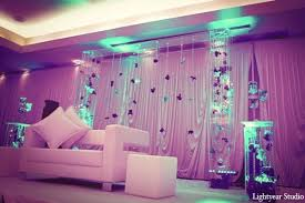 purple white baby pink blue fl decor lighting indian indian wedding photographer