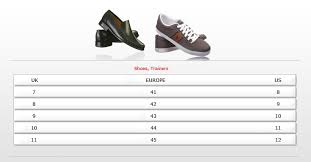 Diesel Womens Shoes Size Chart Size Guide