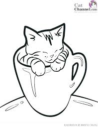 Printable Kitten Pictures Free Cat Coloring Pages Kitty Cat Coloring