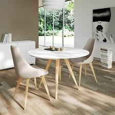 engaging small round dining table ideas for window painting