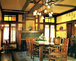 arts and crafts dining room lighting splendid crafts style dining room arts and crafts style lighting