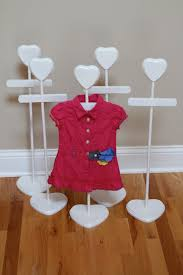 Baby Clothes Display Stand Dress Hanger Baby Shower Centerpiece Stacey Stands 3