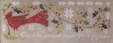 Blackbird Designs Cross Stitch Charts Feliz Navidad