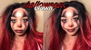 easy af clown makeup tutorial