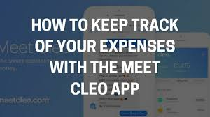 how to keep track of your spending meet cleo review how to keep track of your spending with meet cleo