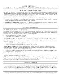 Medical Sales Resume Medical Sales Resume Examples Unforgettable