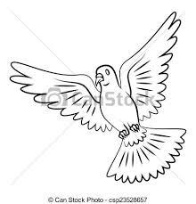 dove flying clipart. Brilliant Dove Dove Flying  Csp23528657 In Clipart E