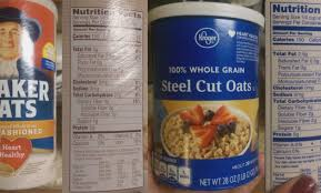 nutritional showdown steel cut oats vs rolled oats of mice and makeup quaker