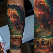 космическая татуировка