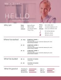50 most professional editable resume templates for jobseekers best resume 42