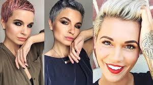 New Pixie Cuts We Love For 2018 Pixie Haircuts For Women Youtube