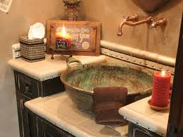Rustic Sink Ideas Bathroom Sink Materials And Styles Hgtv