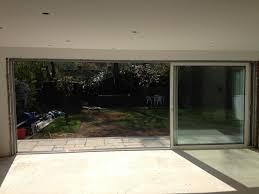 open sliding doors