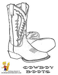 Cowboy Picture Coloring Free Usa Coloring Cowboy Coloring