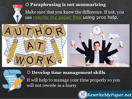 how to rewrite my paper to avoid plagiarism  16  paraphrasing is