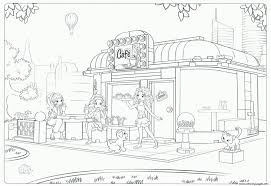 Small Picture lego friends cafe Coloring pages Printable