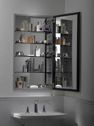 ely Bathroom Mirror With Shelf