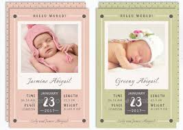 birth announcement templates 9 baby announcement templates free psd ai vector eps format