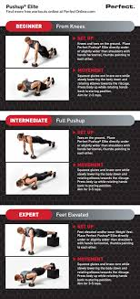 Perfect Pushup Exercise Chart Rational The Perfect Pushup Workout Chart 2019