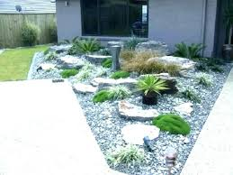 small rock garden ideas front yard landscaping