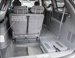 dodge caravan seating chart the future