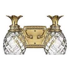brass bathroom lighting fixtures. hinkley anana plantation 13 12 brass bathroom lighting fixtures d