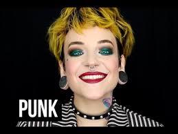 british punk inspired makeup tutorial
