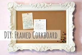 decorative framed cork board the freckled fox framed multipurpose wall decor for large cork board with
