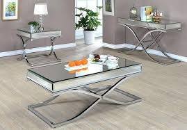 new mirrored coffee table set