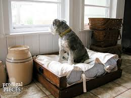 Diy Dog Bed Pet Bed Diy Building Plans Tutorial Prodigal Pieces