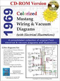 1969 colorized mustang wiring vacuum diagrams david e leblanc 1969 colorized mustang wiring vacuum diagrams multimedia cd 8 2008