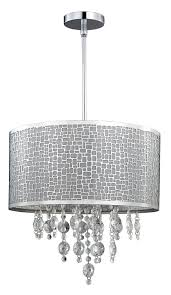 Full Size of Chandeliers Design:amazing Drum Shade Pendant Light With  Crystals Rectangular Chandelier Lighting ...
