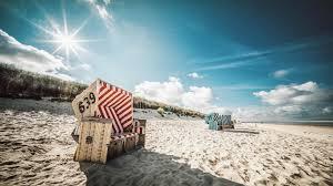 Sommer Sonne Und 14 Km Strand Nordseeinsel Langeoog