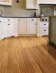 Coastal Collection - Strand Woven Harvest | Home Legend | Bamboo flooring  in kitchen.