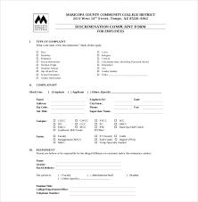 Complaint Template 15 Hr Complaint Letter Templates Free Sample Example Format