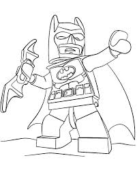 Lego Nightwing Coloring Pages Batman 2 Lego Nightwing Colouring