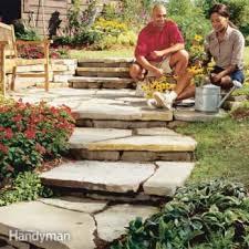 how to build a garden path