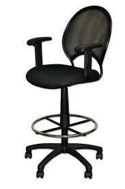 showy chair for standing desk design comfortable ergonomic with stool