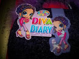 craft gift lisa frank kit purple diva diary writing set boa pen mirror stickers 23 74